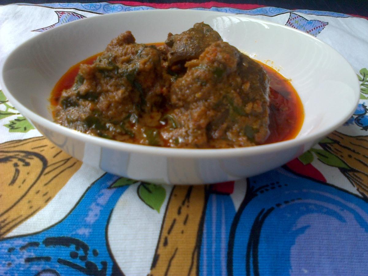 Ofe Akwu (Banga soup)