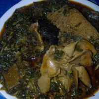 Edikaikong Soup (my version)