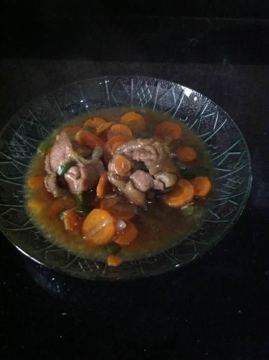 Oiza's roast meat gravy