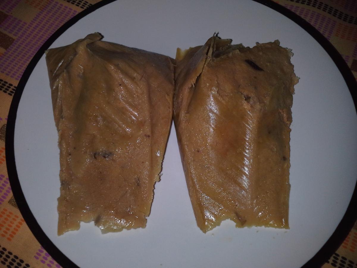 Smoked fish Moi-moi