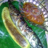 Bole & Grilled Titus fish