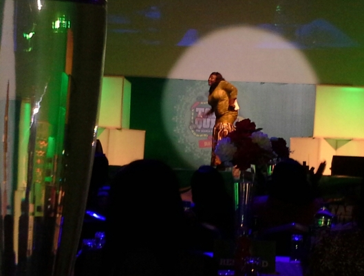 Lolo 1 on stage doing her thing!