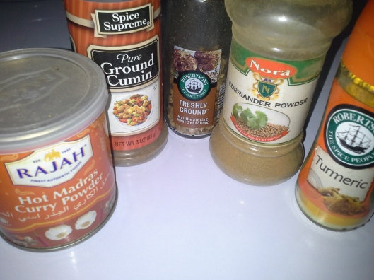 These spices are especially Indian