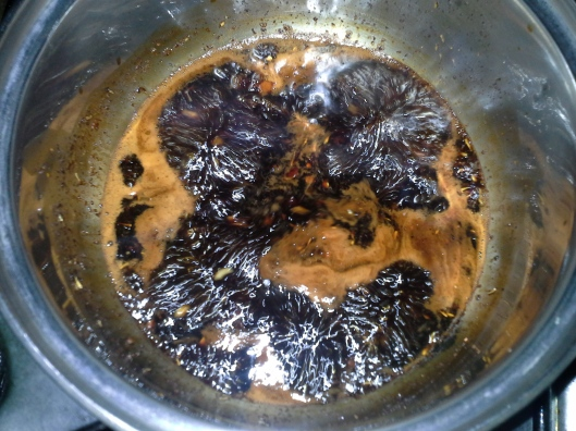 Sauce boiling