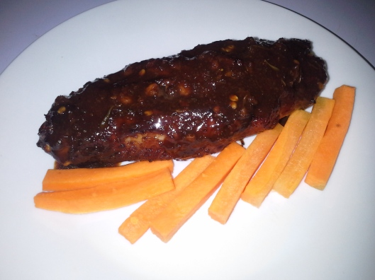 Or enjoy it on its own with fresh carrot sticks