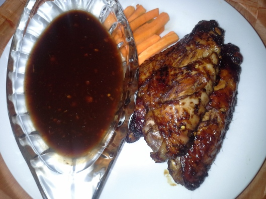 Stir the sauve and let it boil for another minute thennserve with your juicy grilled meat