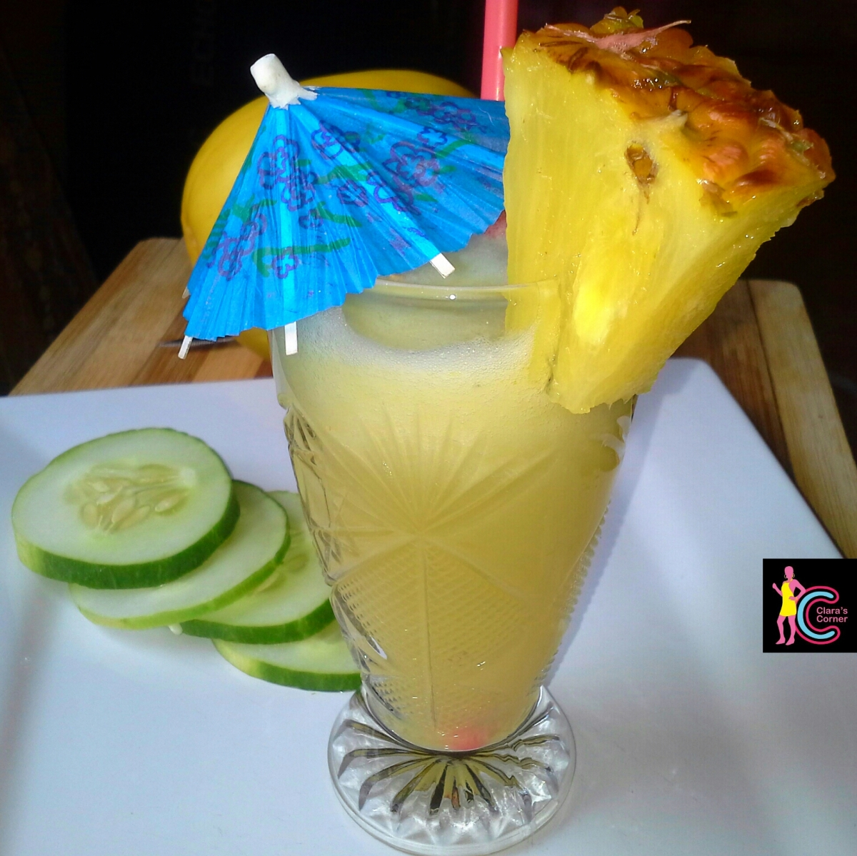 Golden Melon Pineapple Juice