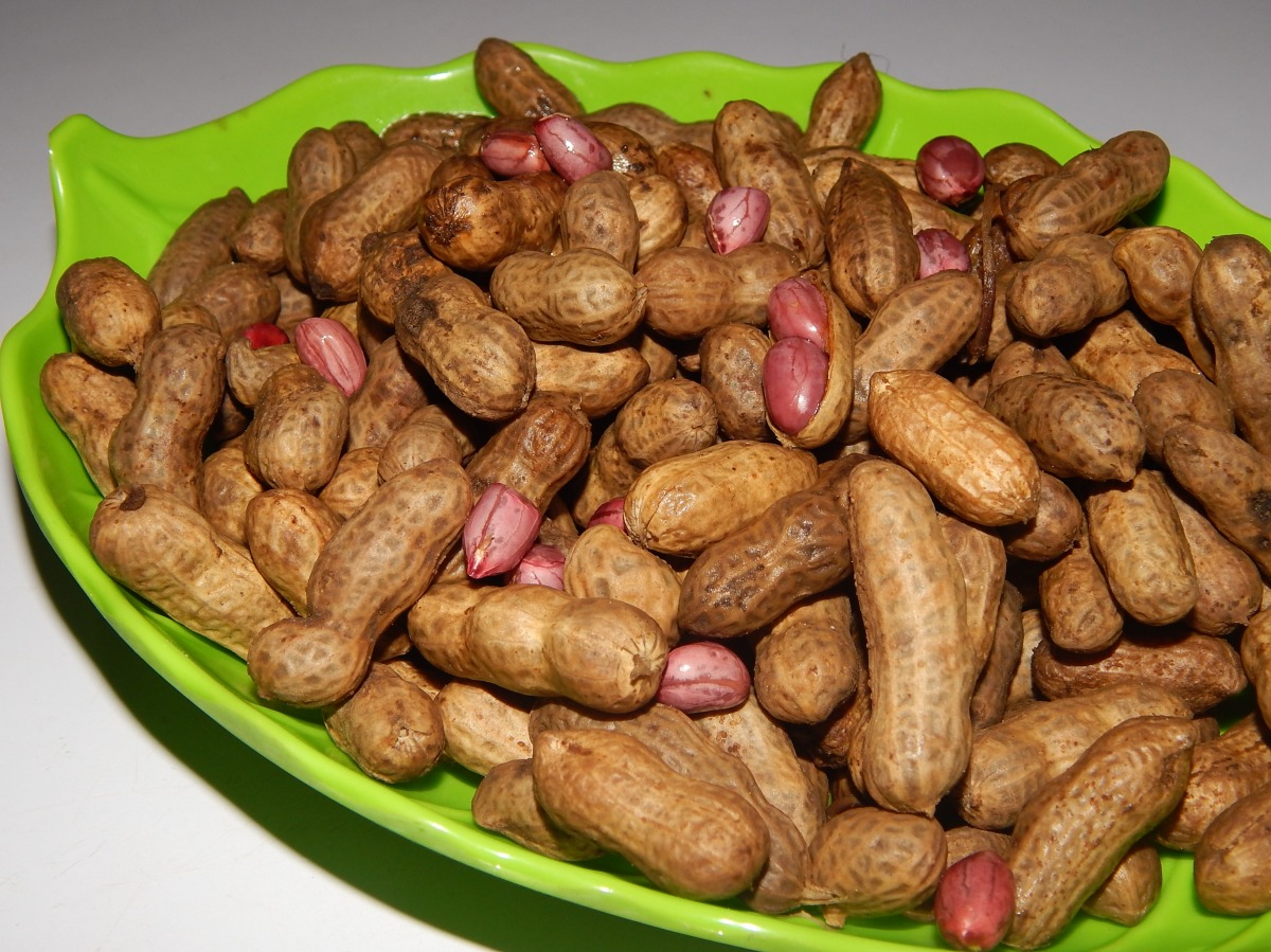 How to boil groundnuts