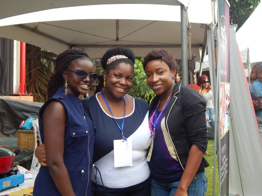 Yemisi, Chef Uzo and Me :-)
