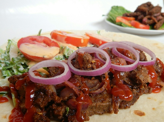 My husbands favourite-suya on steroids,  almost didn't share it on the blog, Lol