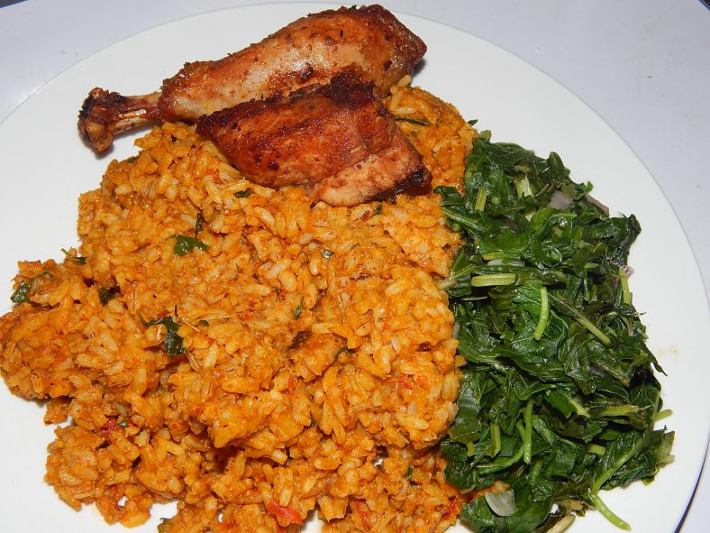 Had grandmas rice with steamed vegetable for lunch