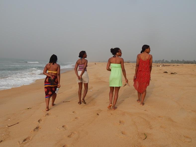 We took a stroll down the beach