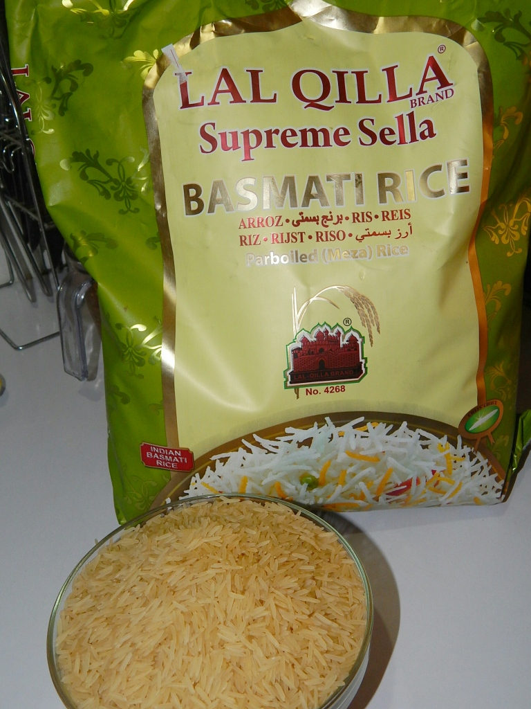 I used this brand but any basmati rice will work