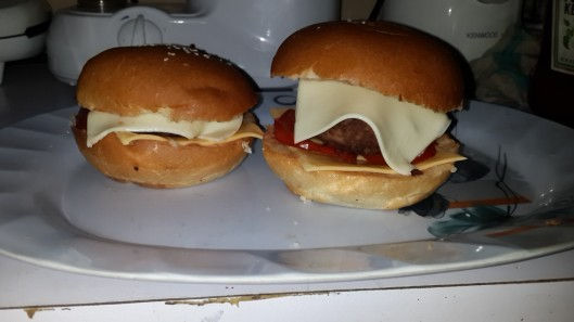 Feyikemis Burger (meat)