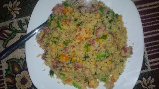 Eniola's Couscous Platter!