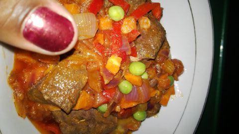 Nnekas Liver sauce